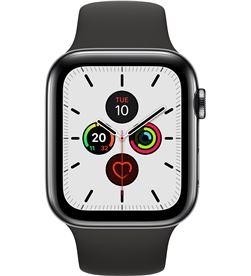 Apple watch series 5 gps cell 44mm caja acero negro espacial con correa ne MWWK2TY/A - APL-WATCH S5 MWWK2TYA