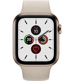 Apple watch series 5 gps cell 44mm caja acero oro con correa piedra deport MWWH2TY/A - APL-WATCH S5 MWWH2TYA